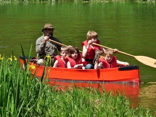 Met Maudsplekje op vakantie - een kanotocht in Limburg